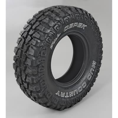 dick cepek mud country tire 285 75 16 outline white With white letter mud tires