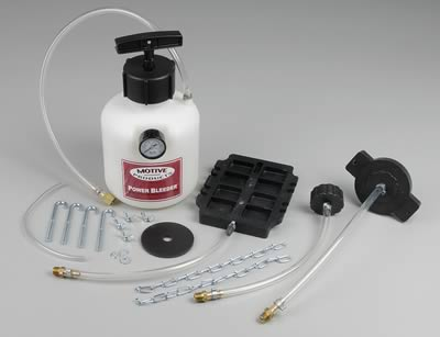 how to use a power brake bleeder