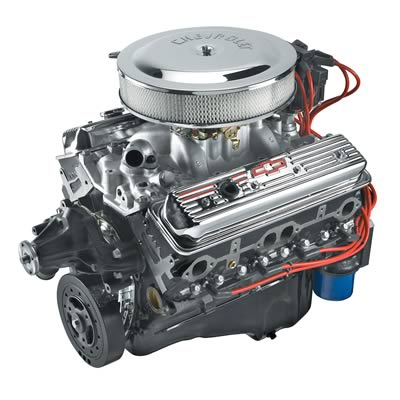 Chevy 350 Long Block Crate Engine