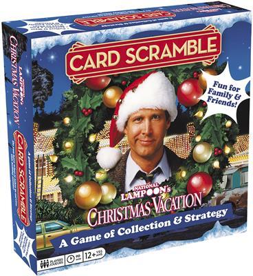 Christmas Vacation.National Lampoon S Christmas Vacation Card Scramble Board Game 97502