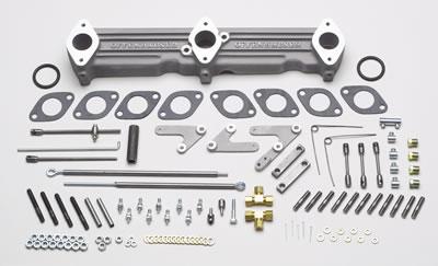 Offenhauser Triple Manifold Intake Manifolds - Free Shipping