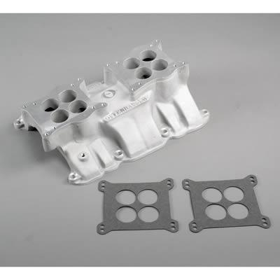 Offenhauser 360 Degree Dual Quad High Rise Intake Manifolds 5692