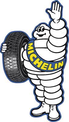 Michelin Man Steel Sign 90166878