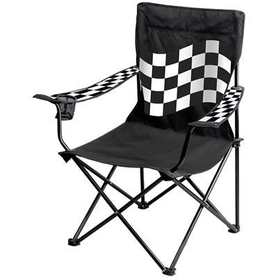 Fantastic Checkered Flag Portable Folding Chair Free Shipping On Inzonedesignstudio Interior Chair Design Inzonedesignstudiocom