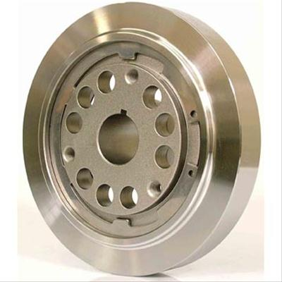 Powerbond Balancers PB2221-SS 7 SFI Approved Steel Harmonic Balancer for Small Block Chevy