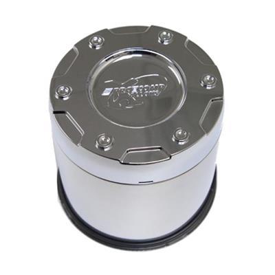 Pro Comp Wheels 7515141 Push Thru Cap Short 2 pc 5.15 in 8X170mm 8X6.5 Push Thru Cap