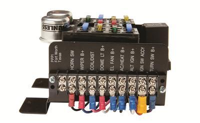 painless performance universal fuse blocks 30001 free shipping on rh summitracing com