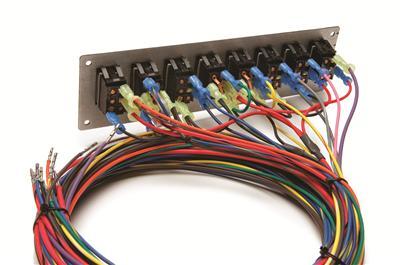 painless performance 21 circuit pro street wiring kits 50003 free rh summitracing com Universal Painless Wiring Harness Painless Wiring Diagram