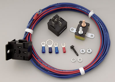 painless performance electric water pump relay kits 50106 - free shipping  on orders over $99 at summit racing