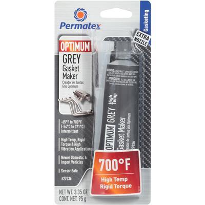Permatex OPTIMUM GREY Gasket Maker 27036 High Temp Up to 700°F