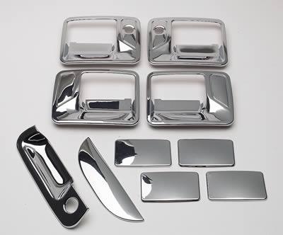 Putco 401013 Chrome Trim Door Handle Cover