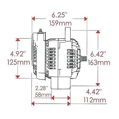 Gm One Wire Alternator Wiring Diagram as well Precedent Golf Cart Club Wiring Diagram as well Avanti Car Wiring Diagrams furthermore Alternator also Suggested Wiring Diagram Alternator. on auto voltage regulator diagram