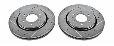 AR8598XPR Drilled and Slotted Rotor Power Stop