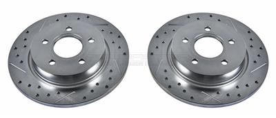 Power Stop EBR897XPR Drilled and Slotted Rotor