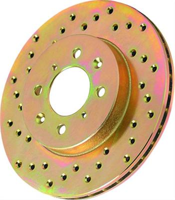 Left Power Stop AR8155XL Cross Drilled and Slotted Performance Brake Rotor