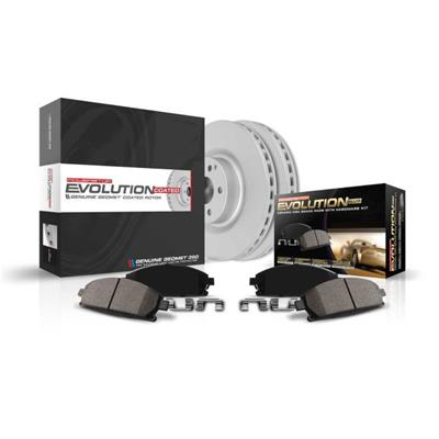 Power Stop KOE6982 Autospeciality Replacement Front Brake Kit OE Rotors /& Ceramic Brake Pads