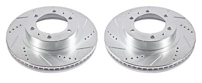 Drilled and Slotted Rotor JBR1392//1393XPR Power Stop