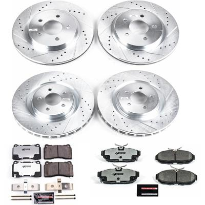 Power Stop Z26 Street Warrior Performance Brake Kits K4148-26