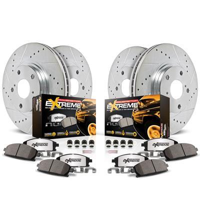 Power Stop TDBK5690 Rear Track Day Brake Kit