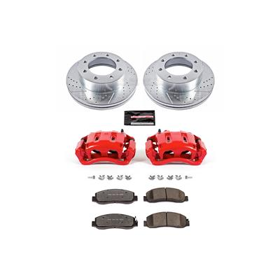 Power Stop KC5412-36 Front Z36 Truck and Tow Brake Kit with Calipers