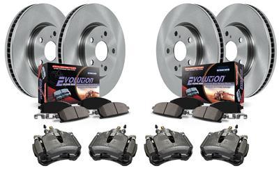 Z23-1042 Rear Z23 Evolution Sport Brake Pads Power Stop