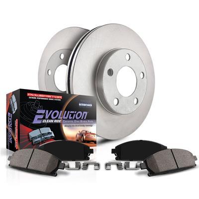 Power Stop KOE7127 Rear Stock Replacement Brake Kit