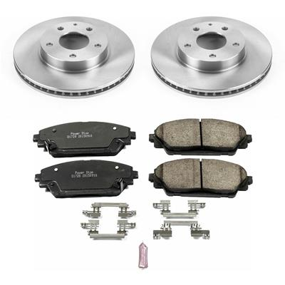 Power Stop KOE7356 Front Stock Replacement Brake Kit