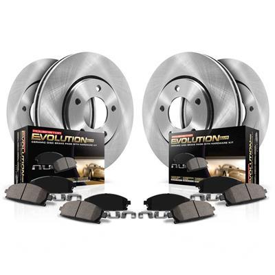 Power Stop KOE8029 Front Stock Replacement Brake Kit