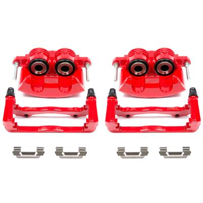 Power Stop Red Powdercoated Performance Calipers S4692