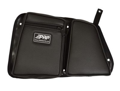 PRP Seats E33-210 Double Bag for Polaris RZR Carbon Fiber Black