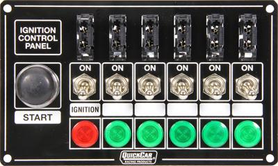 quickcar ignition control panels 50 864 free shipping on orders rh summitracing com Quick Late Model Dirt Car Logo Quick Car Tach