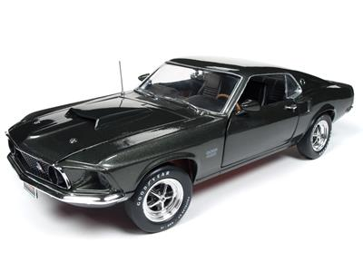 1969 Ford Mustang Boss 429 >> 1 18 Scale 1969 Ford Mustang Boss 429 Diecast Model Amm1152