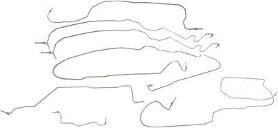 Dorman 919-145 Stainless Steel Brake Line Kit