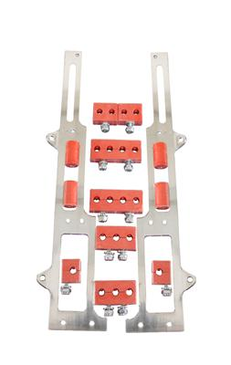 R/&M Specialties 1105R Red Spark Plug Wire Loom Set for Small Block Ford
