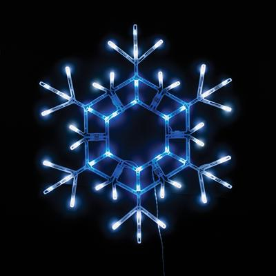 Top 28 large snowflake lights waterproof christmas for Large outdoor christmas lights