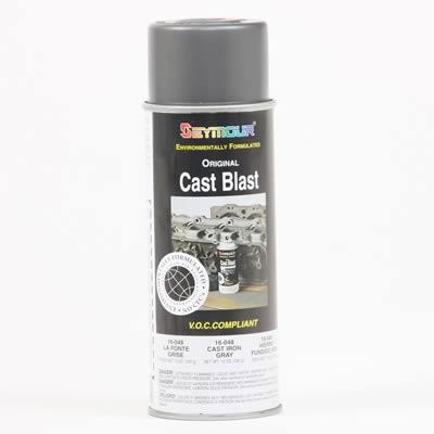 Seymour Paints Paint Cast Blast Cast Coat Iron Satin 13 oz Aerosol Spray Can Ea