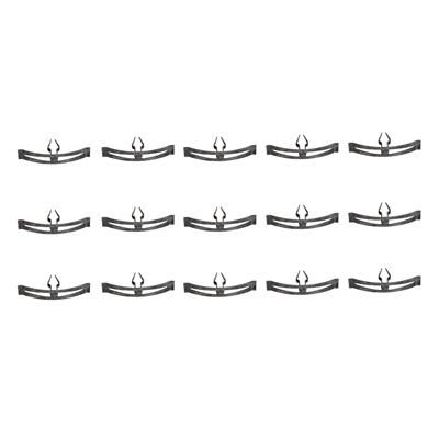 SoffSeal 5075 Hood To Cowl Seal Clip Kit Steel