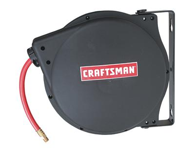 craftsman retractable hose reels free shipping on orders over 99 at powersports place - Retractable Hose Reel