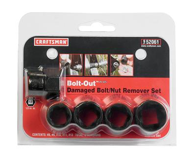 Craftsman Bolt Out 5 Piece Damaged Nut Remover Sets 009 52061 Free Shipping On Orders Over 99 At Summit Racing
