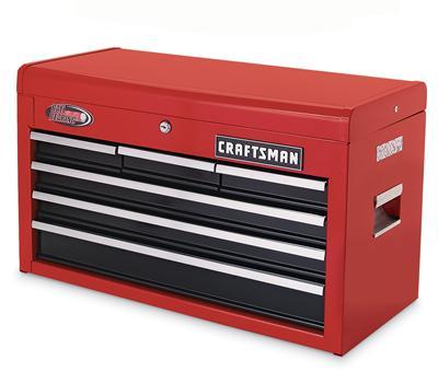 Craftsman 962020 tool chest 6 drawer 26 w h 12 for 12 inch depth dresser
