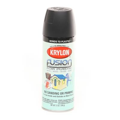 krylon fusion spray paint for plastic 2421 free shipping. Black Bedroom Furniture Sets. Home Design Ideas