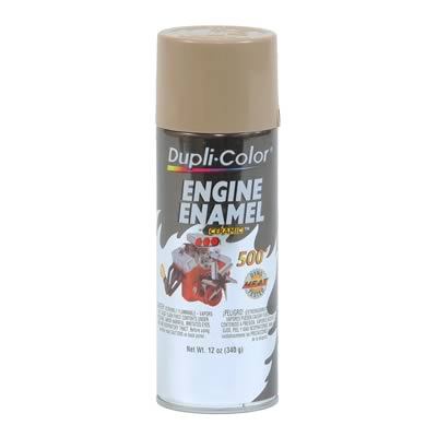 Dupli Color Paint Engine Enamel with Ceramic Resin Gloss Cummins Beige