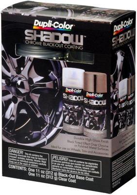Dupli Color Shadow Chrome Black Out Paints Shd1000
