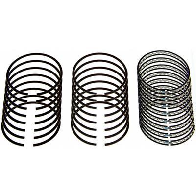"""1//16-1//16-3//16 Plasma Moly Piston Ring Set 4.030/"""" Bore Zero Gap"""