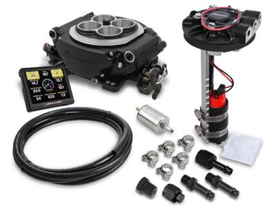 Holley Sniper EFI 650 HP Super Sniper Fuel Injection Systems 550-511D