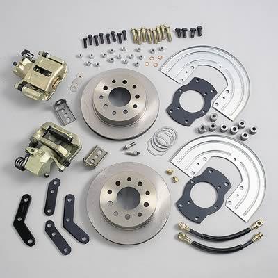 stainless steel brakes rear disc brake conversion kit a125 2