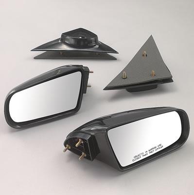 Dorman Side View Mirror ABS Black Electric GM//Isuzu Pickup//SUV Driver Side Each