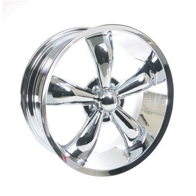 Summit Racing Legend 5 Series Chrome Wheel 20x8 5 5x114 3mm