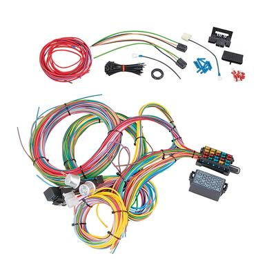 sum 890020 summit racing� 18 circuit universal wiring harnesses sum 890020 universal wiring harness at gsmportal.co