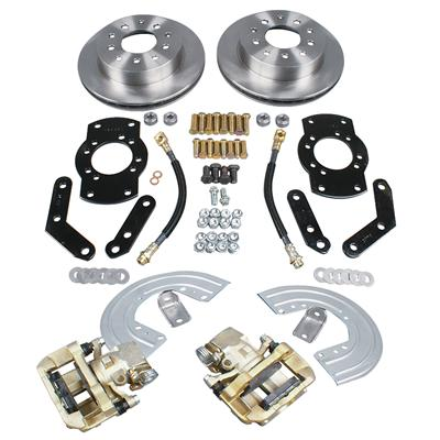 summit racing rear drum to disc brake conversion kits free shipping on ord. Black Bedroom Furniture Sets. Home Design Ideas